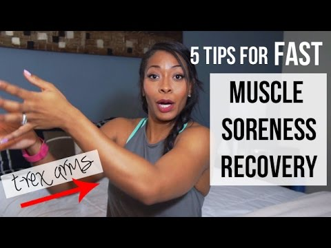 5 Tips for FAST Muscle Soreness Recovery (DOMS)