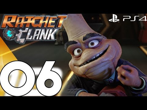 Ratchet and Clank Walkthrough Gameplay Part 6 - QUARK'S PLAN (2018 PS4)