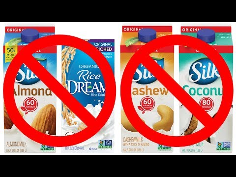 Yes, most plant milks are bad for kids (thoughts on that