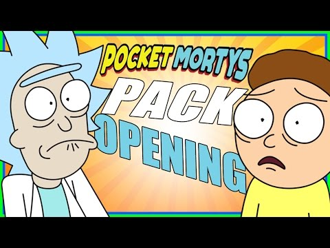 Pocket Mortys - Opening 20 Blips and Chits Packs!