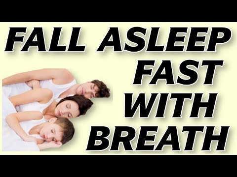 How to Fall Asleep Fast in 1 min [Easy Buteyko Breathing Exercise]