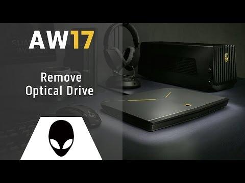 Alienware 17 R1: Remove Optical Drive