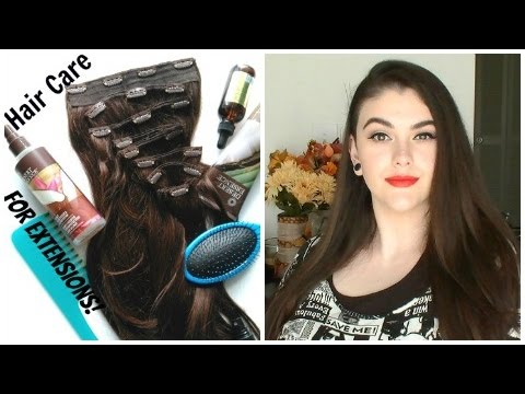 Hair Care For Clip In Extensions! + Best Cruelty Free Products!