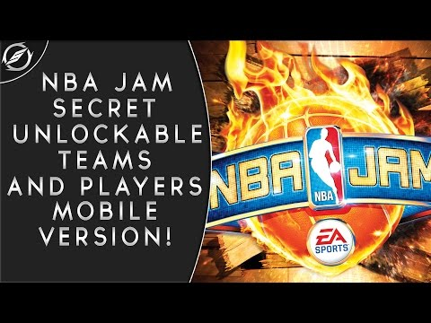 How To Unlock Every Secret NBA Jam Teams & Characters (iPad, iPod, iPhone, Android)