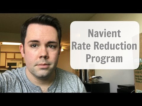 Navient Rate Reduction Program