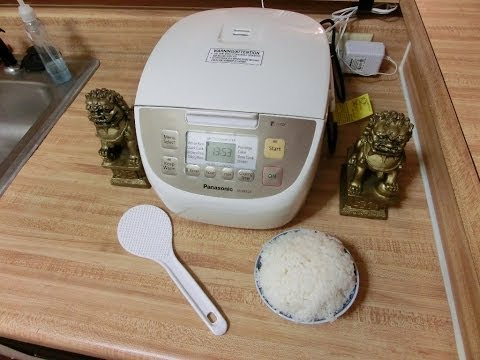 Jasmine White Rice in Japanese Rice Cooker