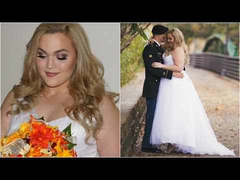 Get Ready With Me: Wedding Makeup, Hair & Dress | LoeyLane