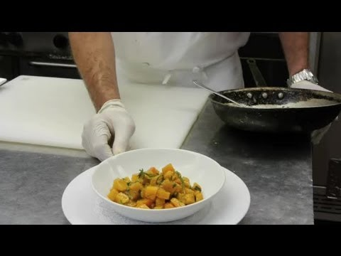 Sauteed Butternut Squash Cubes With Brown Butter : Delectable Dishes