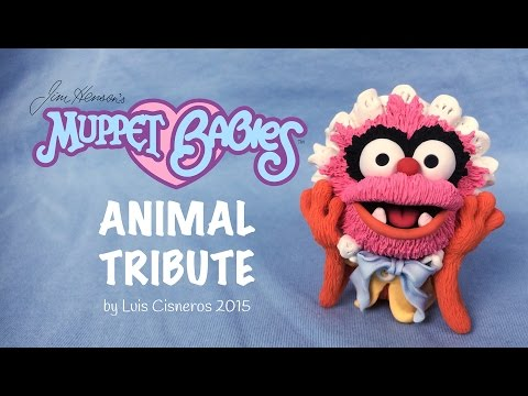 Polymer Clay Tutorial - How to create BABY ANIMAL tribute from the TV show Muppet Babies