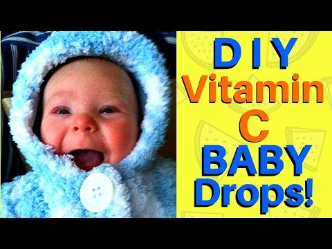How to Make Vitamin C Drops for Infants - Prevent SIDS