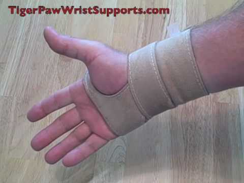 Tiger Paw Wrist Supports