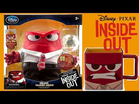 Disney / Pixar Inside Out Anger Talking Action Figure Toy Unboxing!!!