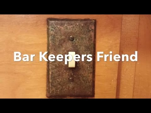 How To Clean Metal And Remove Rust Clean Polish Restore With Bar Keepers Friend.