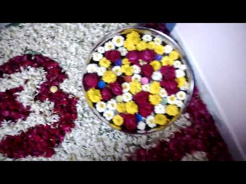 How to mack marrige first night room decoration.mukesh talaviya