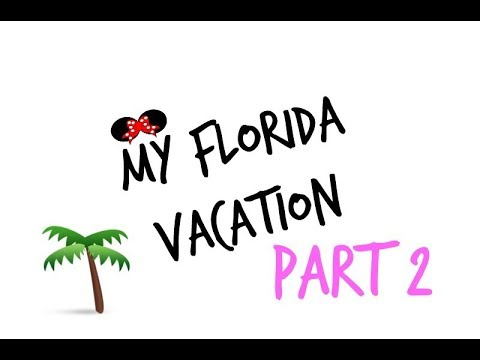 MY FLORIDA VACATION! PT 2 | RENEE SCARLETT