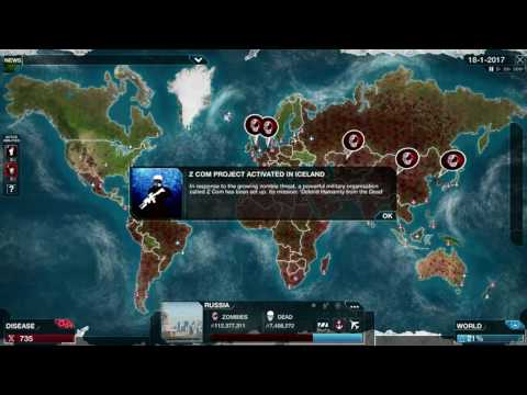 Plague Inc Evolved: Necroa Virus with unlimited DNA points