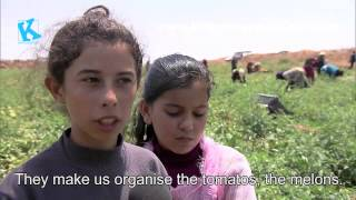 Syrian children telling their story