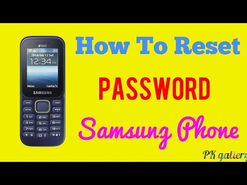 How To Reset Password Samsung Keypad Phone.