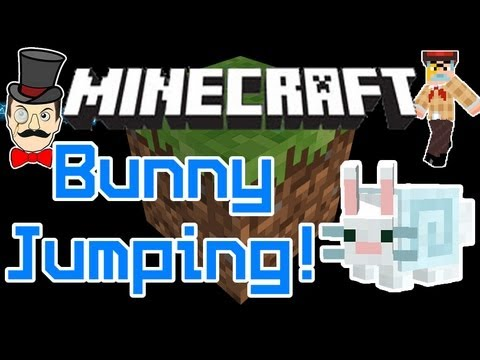 Minecraft Aether Mod 1.02 SECRET BUNNY JUMP Trick! Aerbunny Hat = Huge Floaty Jumps!
