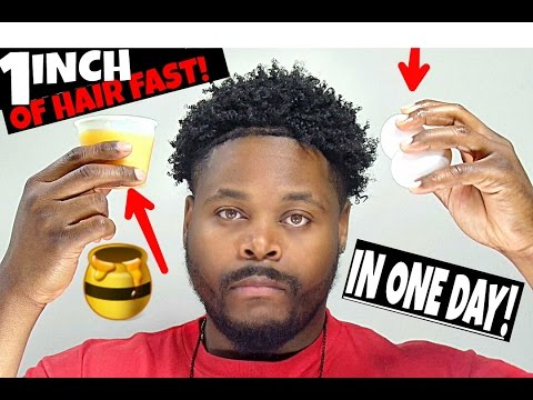 How To Grow Your Hair 1 Inch In 1 Day! MUST WATCH!!