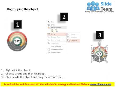 world map circular arrow diagram powerpoint template