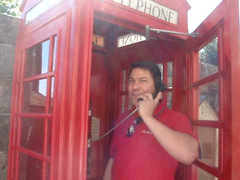 David Calling the Queen from Epcot