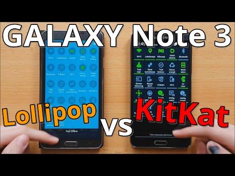 What's new: Note 3 Lollipop vs Note 3 KitKat