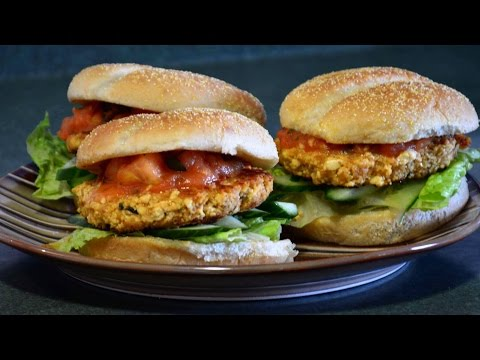 How To Make Tofu Burgers With Tomato Sauce