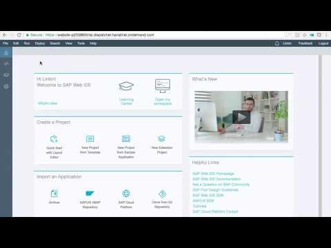 SAPUI5 FIORI using OData Annotations