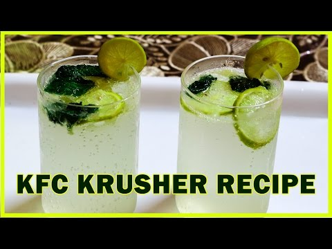 KFC Lemon Krusher Recipe | Secret Recipe !