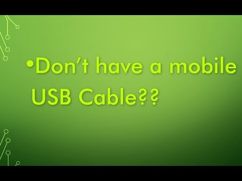 Transfer files between PC and Android mobile without bluetooth or USB cable