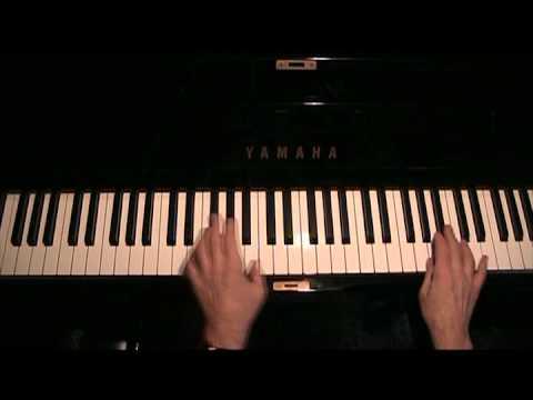 Basic Blues piano improvisation, blues scale