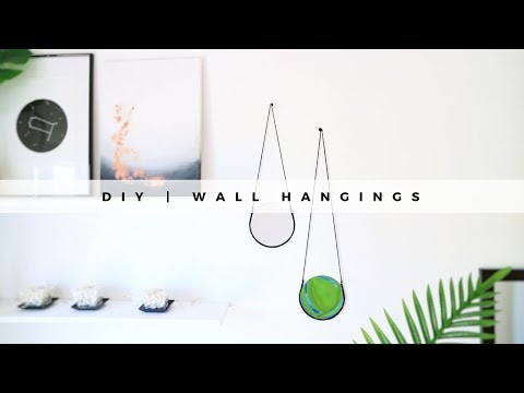 DIY Room Decor | Hanging Mirrors
