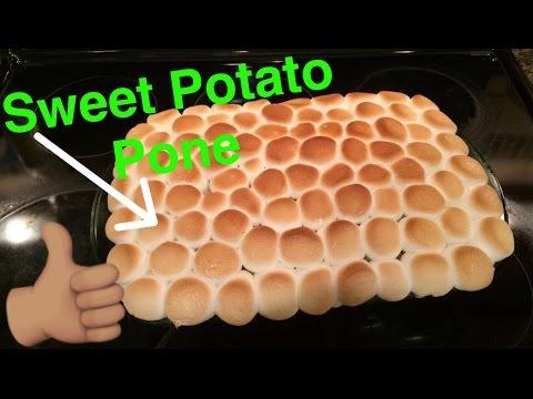 How to Make: Sweet Potato Pone Tutorial