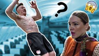 BACKFLIP ON AN AEROPLANE ?? Australia Vlog #1 {40,000ft)
