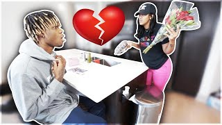 WHY ARE YOU CHEATING ON ME PRANK FT THE PRINCE FAMILY!!! - Nique