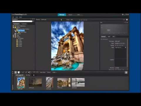 pdf file?  Watch how easy it is to use Corel PaintShop Pro to open, edit and print a pdf image.