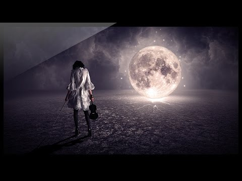 Photoshop Compositing Tutorial - Photo Manipulation - Moonlight