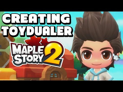[ Maplestory 2 ] Creating ToyDualer! - Maplestory 2 Character Creation