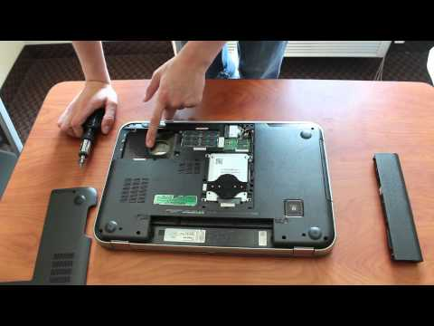 How to Remove a Hard Drive From a Laptop Computer