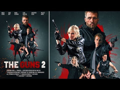 Design Action Movie Poster | Photoshop Tutorial