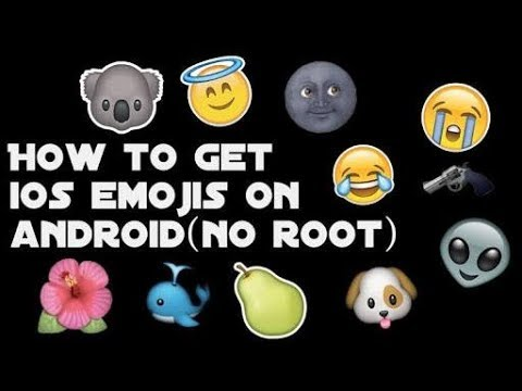 How to get iphone emoji in android For Free! By Supertech