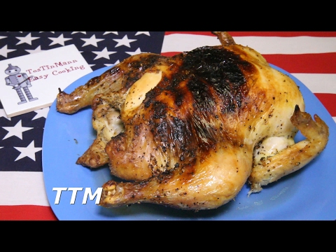 How to Brine a Chicken and Cook it in the Toaster Oven~Whole Chicken Recipe