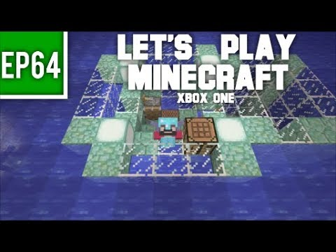Let's Play Minecraft Xbox One - EP64: New AFK Fish Farm!