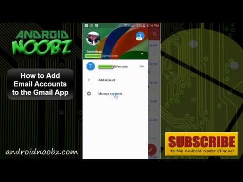 How to Add Email Accounts to the Gmail App on Android