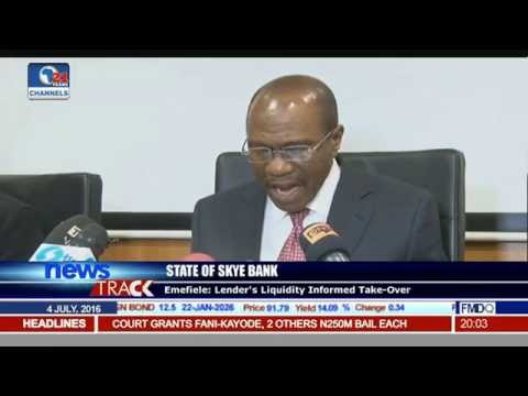 Central Bank Replaces Skye Bank Board On Rising Poor Loan Book