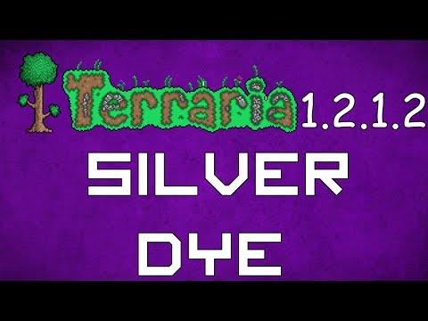Silver Dye - Terraria 1.2.1.2 Guide New Dye!