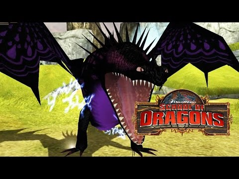 ELECTRIFYING ADULT SKRILL - How To Train Your Dragon - School of Dragons