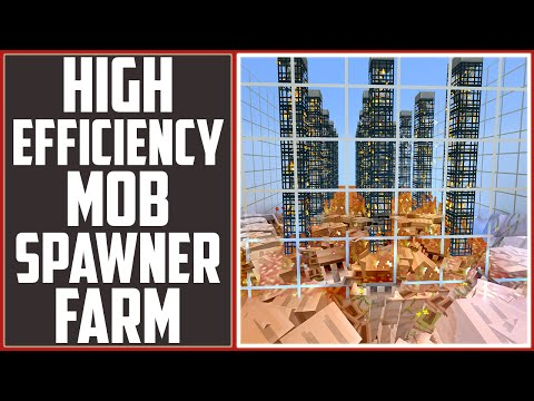 All Purpose Mob Spawner Farm - Layout Tutorial - [Minecraft Factions Tutorial]