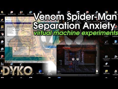 Venom Spider-Man Separation Anxiety virtual machine experiments